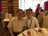 With Prof TC SUM(岑子健) from NTU